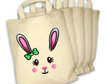 Bunny Face mini tote bundle