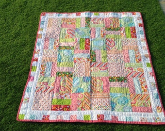Bright and Modern Lap quilt