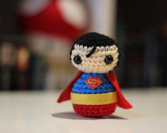 Superman Amigurumi - DC Comics
