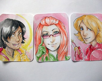 Totally Spies! - Original ACEOs