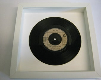 "Andy Gibb - ""(Love Is) Thicker Than Water"" - Framed Record"