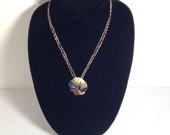 Valentine gift-Necklace: Meteorite
