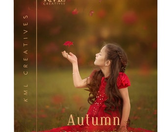 Autumn Photoshop Actions with leaf overlays
