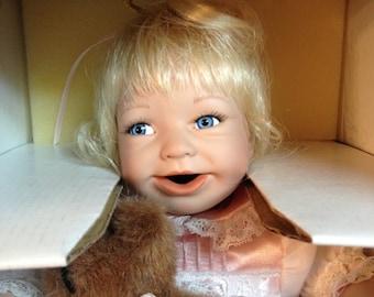 "Ashton Drake Gallaries ""I Wish You Love"" Porcelain Doll"