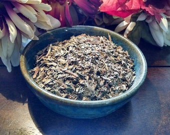 Deerstongue, Deers tongue Vanilla Leaf Conjure, pagan ritual supply, new age, wicca