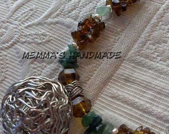 BETELGEUSE necklace with semiprecious stones