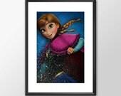 Anna From Frozen - Digita...