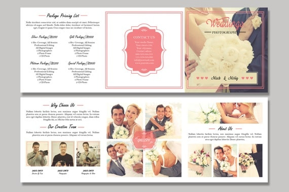 Wedding Photography Brochure Ideas: Items Similar To Wedding Photography Brochure