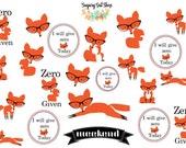 Zero Fox Given Sticker Sheet