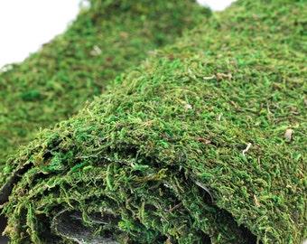 """Moss Runner for Woodland Weddings Garden Decor 18"""" x 48"""" Moss Mat Table Setting Decor"""