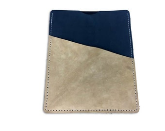 iPad Leather Sleeve Wallet Tablet Case with Front Pocket