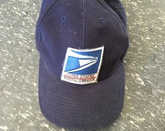 Vintage Postal Service baseball Hat USPS