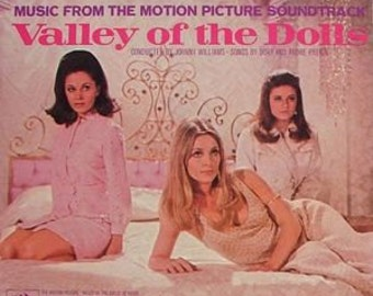 """Valley of the Dolls LP notebook (8.5"""" x 11"""")"""