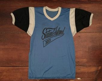 90s Vintage Staten Island New York Jersey Size Medium
