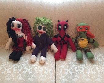 Character Zombie Dolls