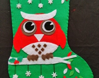 Owl Always Love Christmas Stocking