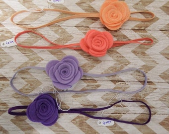 Simple But Sweet Felt Flower Bow.