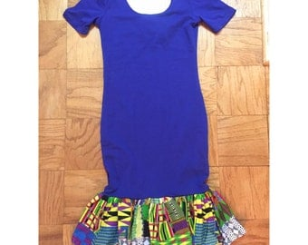 Dress, peplum bottom