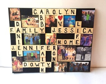 Scrabble/ Photo Board