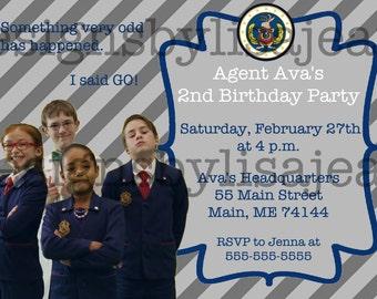 Odd Squad Invitation #10