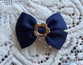 Double Flower Hair bow