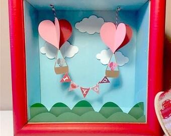 Wooden Love Box