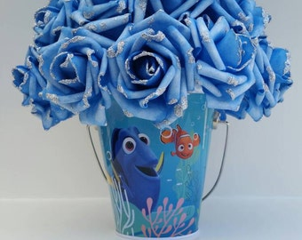 Finding Dory, finding Nemo, centerpieces