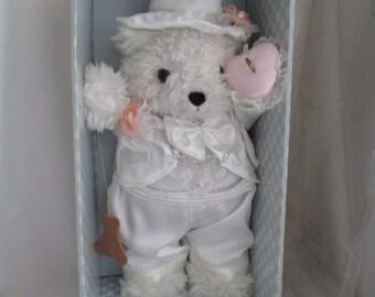 "Brinns Collectable Natty Bear ""Wedding Ring Bearer"" - 1996"