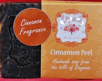 Natural ALL 100% Handmade Organic Natural Cinammon Peel Soap village made