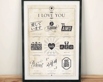 how to write i love you in 10 different languages