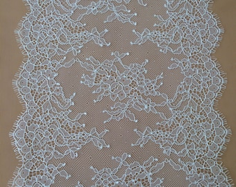 White Lace trimming, Chantilly  Lace Trim