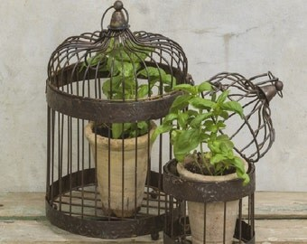 Moroccan Bird Cage Set of 2