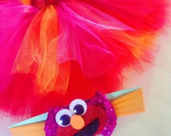 Elmo Tutu & Headband Set