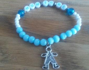 Mum To Be - Baby Boy/Girl - Handmade Bracelet