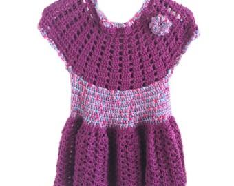 Purple Girl Dress