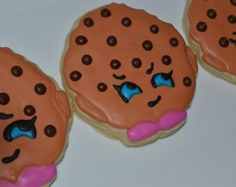 Shopkins Kooky Cookie Sugar Cookies