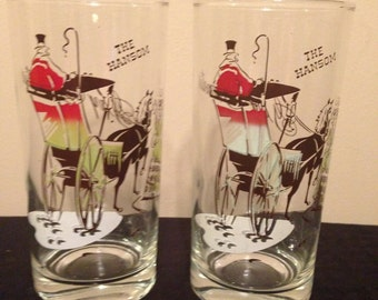"""Vintage Pair of Gay Fad """" Gay Nineties"""" Glasses, The Hansom. Mid Century Modern"""