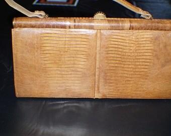 brand new vintage Polazzio snakeskin hand bag
