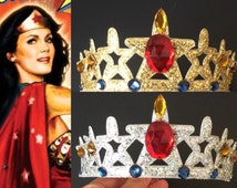 SALE!!!,Wonder Woman Headband,Wonder Woman Crown,Wonder Woman accessory,girl power,Wonder Woman costume,party favor,comic con headband,Super