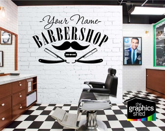 Barbershop Sign Wall Art