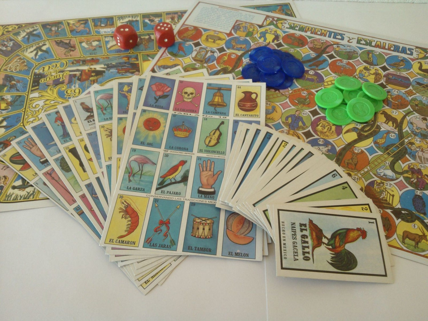 Black gloves lyrics goose - Lot Of 3 Mexican Party Games Loteria Bingo Game 10 Players Lyric Song Included Snakes And Ladders Oca Game Game Of The Goose