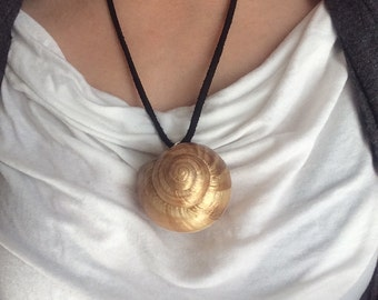 Ursula Style Snail Shell Necklace