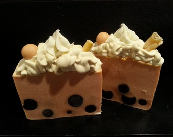 "Handmade natural soap ""Thai tea"""
