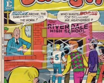 75% SALE 1976 Archie Comic Book..Archie Comics..Archie Series..Vintage Comic Book..70's Comic Book..Archie Laugh #304