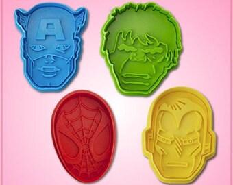 Marvel Superhero Cookie Cutter Set