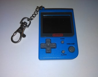 1990s Nintendo Super Mario Bros Keychain game with new batteries