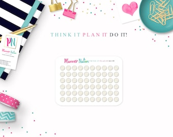 60 - Volleyball Planner Stickers - Perfect for Erin Condren, Happy Planner, Filofax, Plum Planner, Kikki K and more!