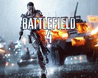 """Battlefield 4 Poster 8.5"""" x 11"""" - 11"""" x 17"""" - 13"""" x 19"""""""