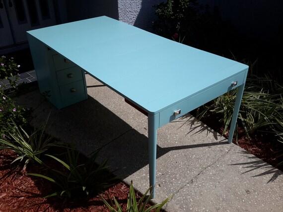 Sold!! Vintage Saginaw Watertown Slide Expandable Desk/Table