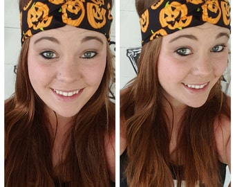 Sale ~ Halloween Jack-o-lantern Headband